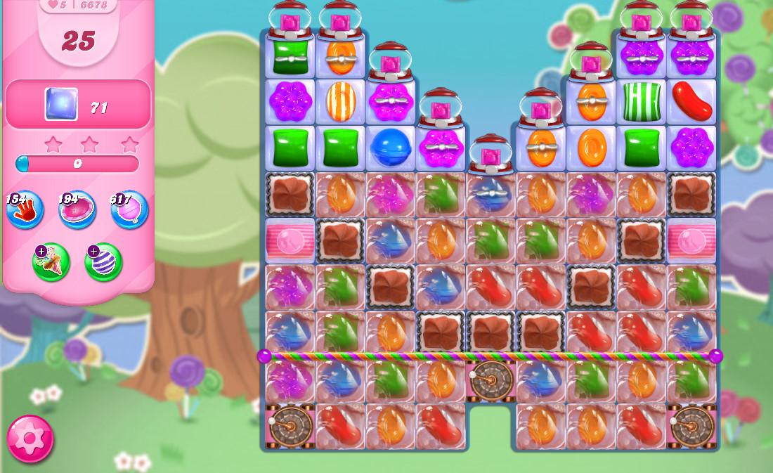 Candy Crush Saga level 6678