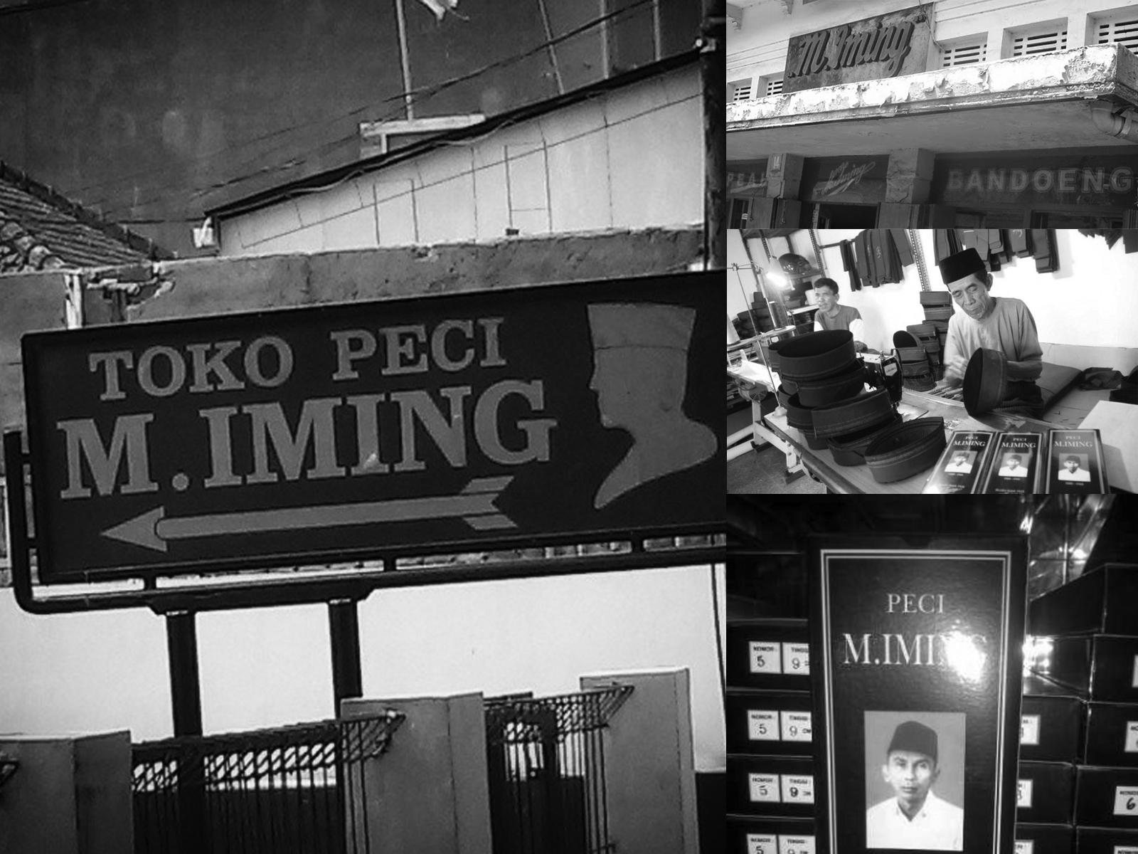 Sejarah Peci M Iming Bandung