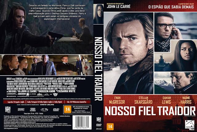 Capa DVD Nosso Fiel Traidor