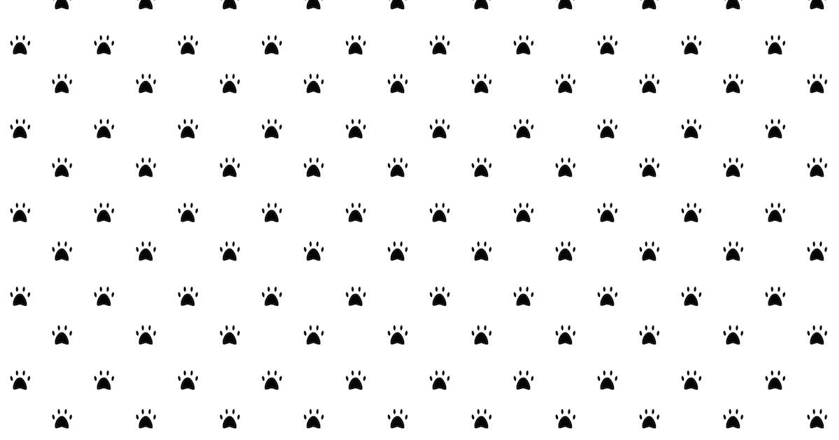 Free digital paw print scrapbooking paper - ausdruckbares