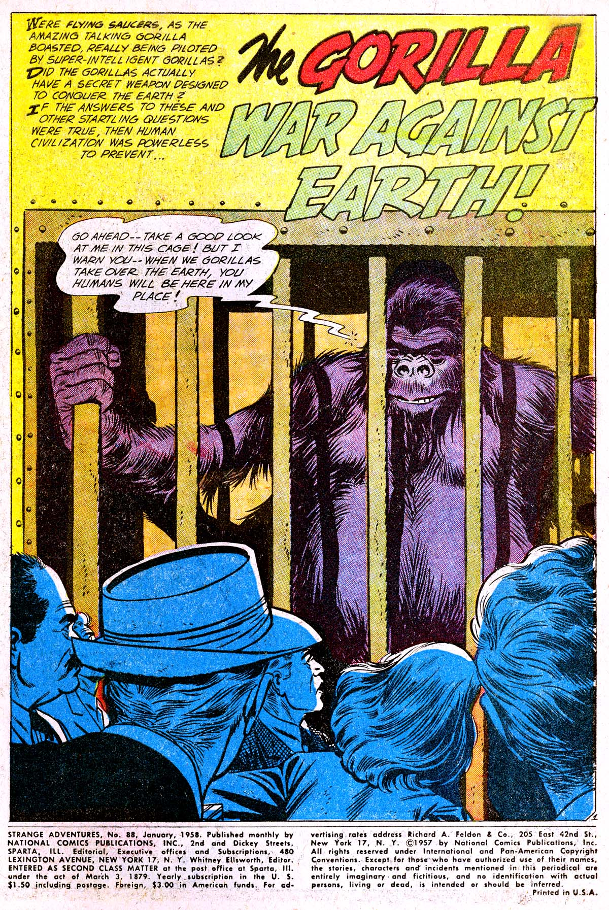 Strange Adventures (1950) issue 88 - Page 3