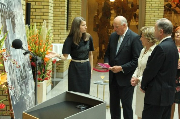 When King Harald was photographed by Royal Central last Monday, he was in good shape, as he usually is