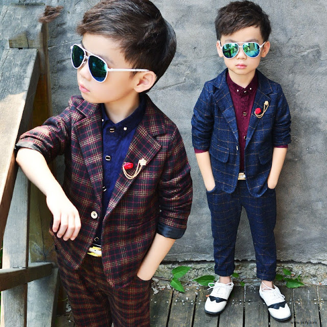 British Style Suits For Children