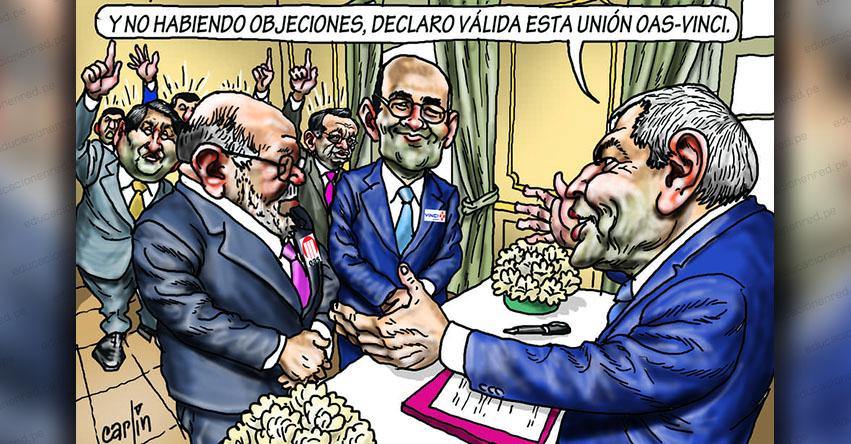 Carlincaturas Miércoles 22 Mayo 2019 - La República