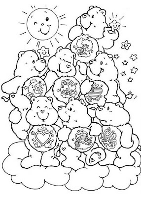 Care Bear Coloring Pages >> Disney Coloring Pages