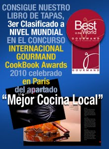 CONSIGUE EL LIBRO PREMIADO EN EL COOKBOOK AWARDS 2010