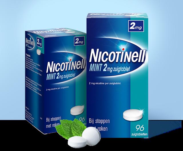 kẹo cai thuốc lá Nicotinell