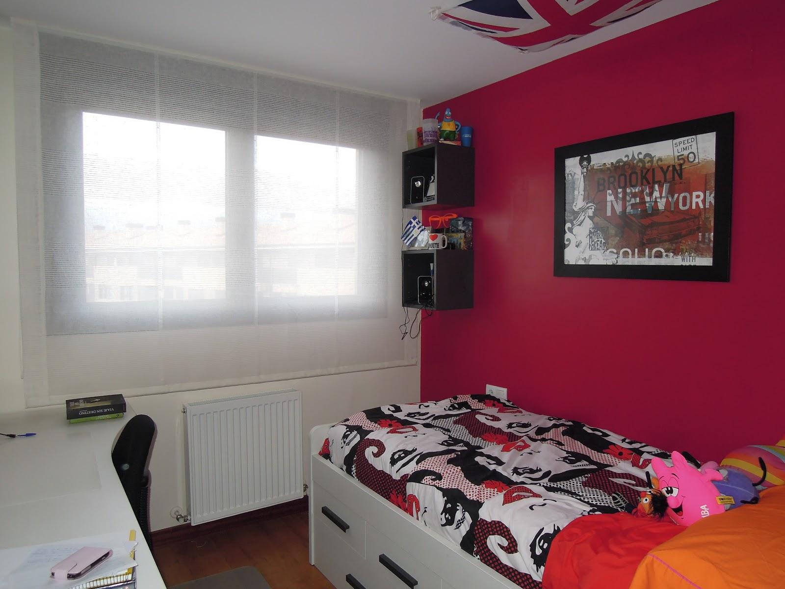 Fotos de Cortinas Dormitorio Juvenil 2012