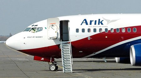 Body of dead stowaway found on Arik Air plane
