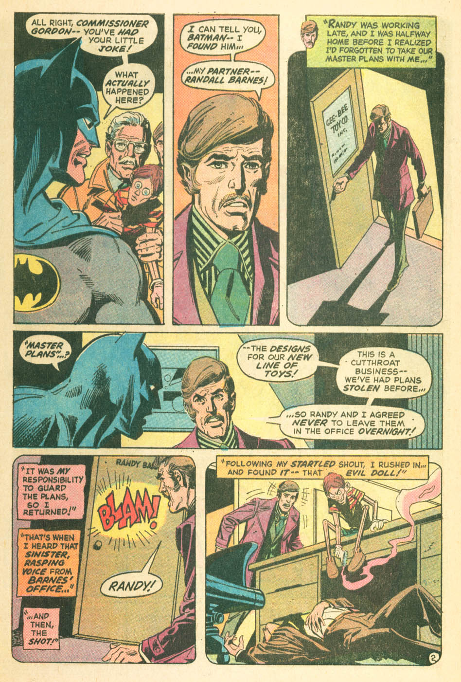 Detective Comics (1937) 427 Page 3