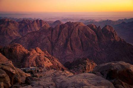 Gunung Sinai, Mesir