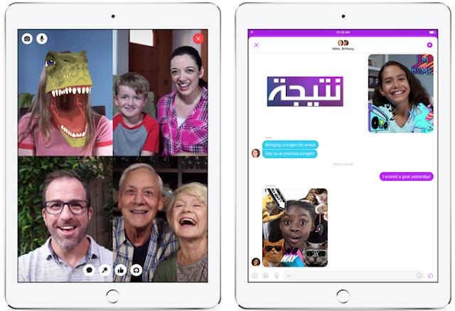 تحميل تطبيق ماسنجر كيدز للأطفال Messenger Kids وشرح طريقة عمله android and ios