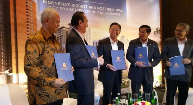 Grup Lippo James Riady Bangun Kota Baru 'Meikarta'  Senilai Rp278 T, Menyaingi Kota Jakarta