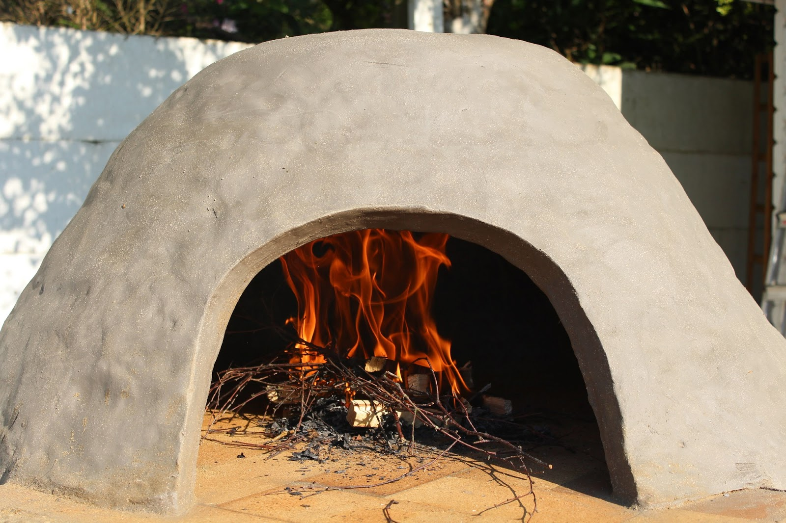 Fire Clays Fired : Flower pot kitchen clay oven building your wood fired