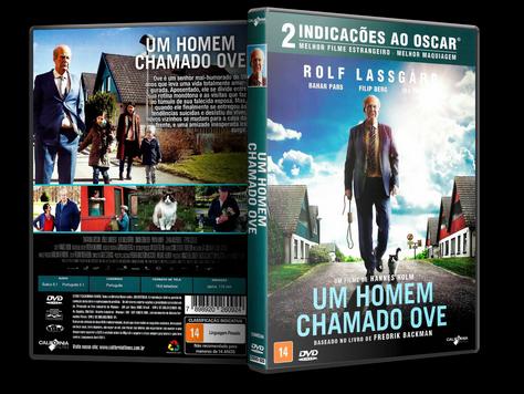 Capa DVD Um Homem Chamado OVE (Oficial)