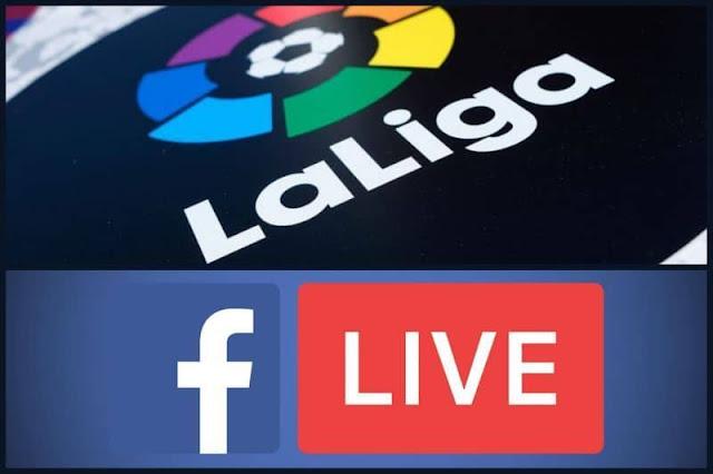 Facebook live (La Liga)
