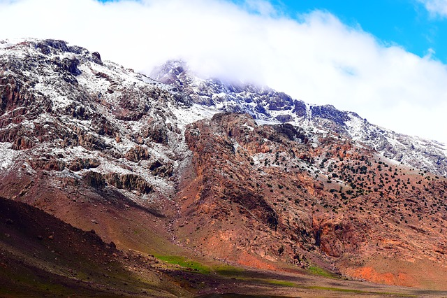 The High Atlas Mountains