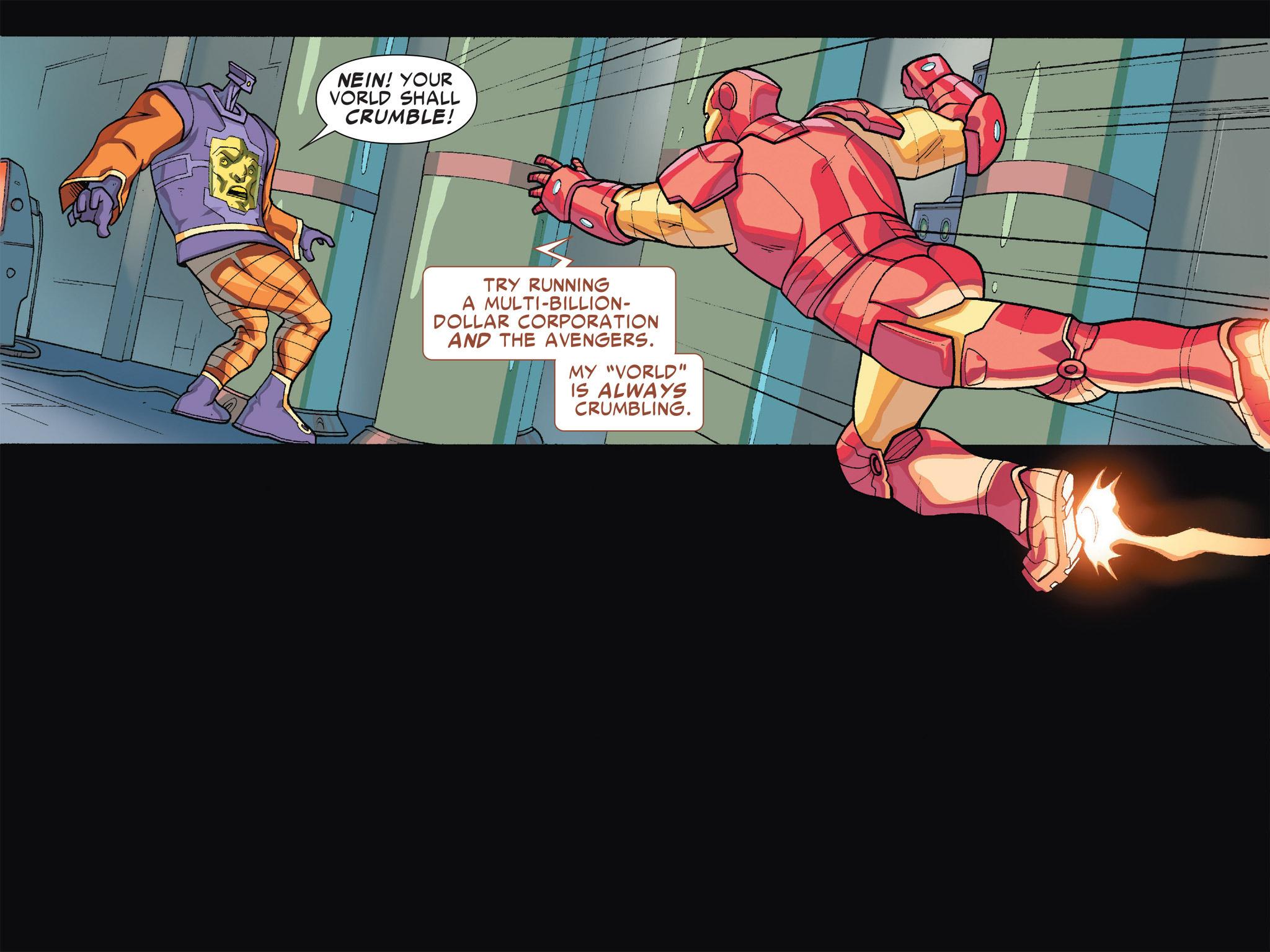 Read online Ultimate Spider-Man (Infinite Comics) (2016) comic -  Issue #5 - 13
