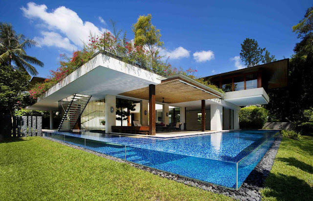 Contemporary Tropical Dream House