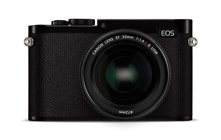 Концепт беззеркальной полнокадровой камеры Canon