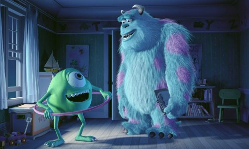 Sulley and Mike Wazowski