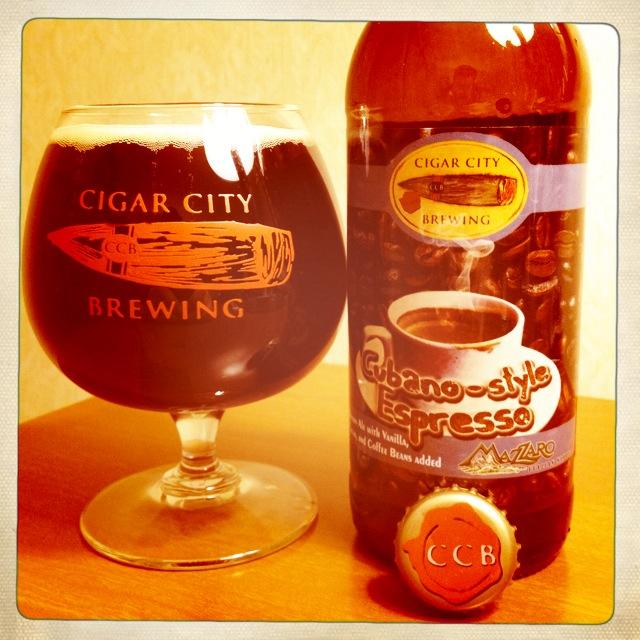 NorCal Beer Blog: Cigar City Brewing Cubano-Style Espresso