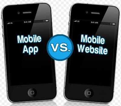 Difference Mobile Responsive Website with Mobile Website and Mobile applications