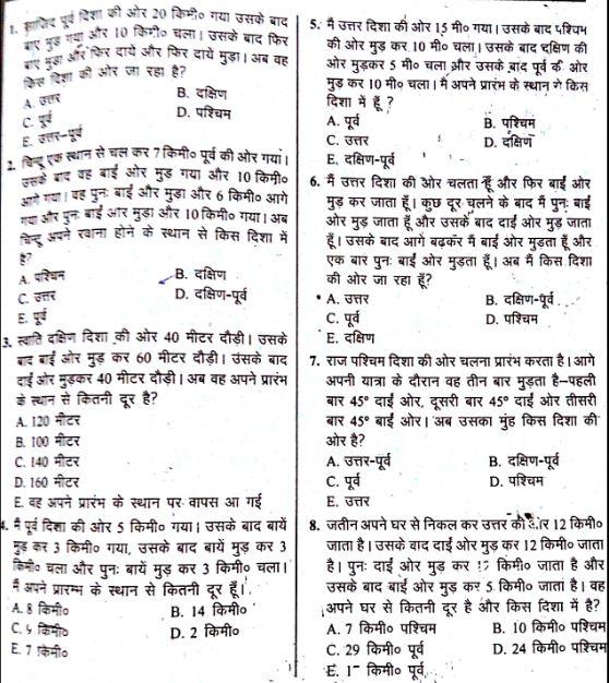 MTS general knowledge hindi
