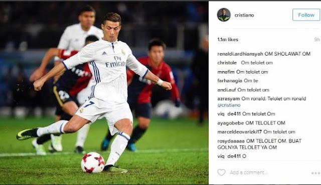 Fenomena Telolet : Ronaldo dan Messi Jadi Korban 'Om Telolet Om'