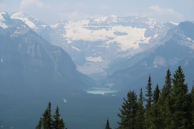 Victoria Glacier and Lake Louise