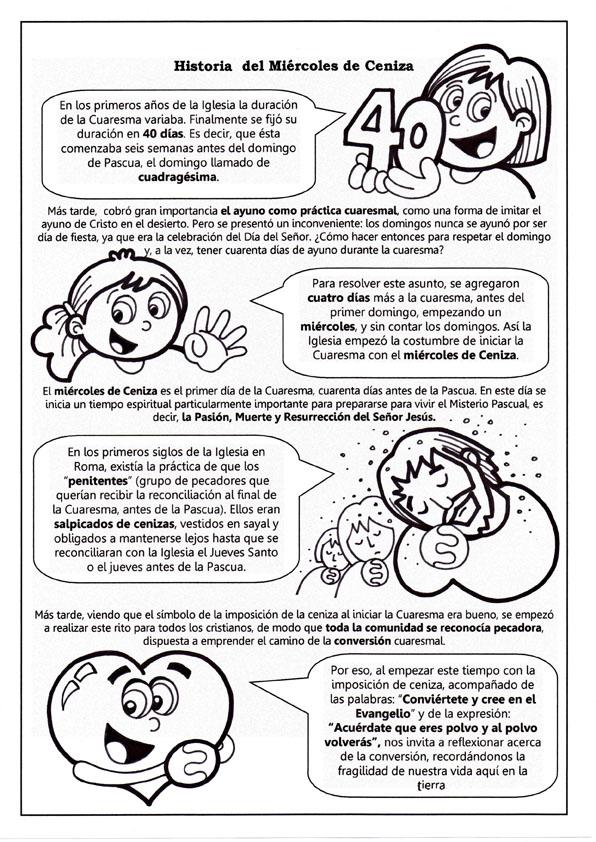 Parroquia La Inmaculada: Muchas Fichas y Actividades para la Cuaresma