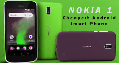 Nokia 1 cheapest Android Smartphone