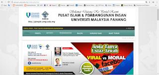 website rasmi PIMPIN UMP