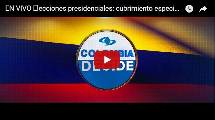 Y el nuevo presidente constitucional de Colombia, es...