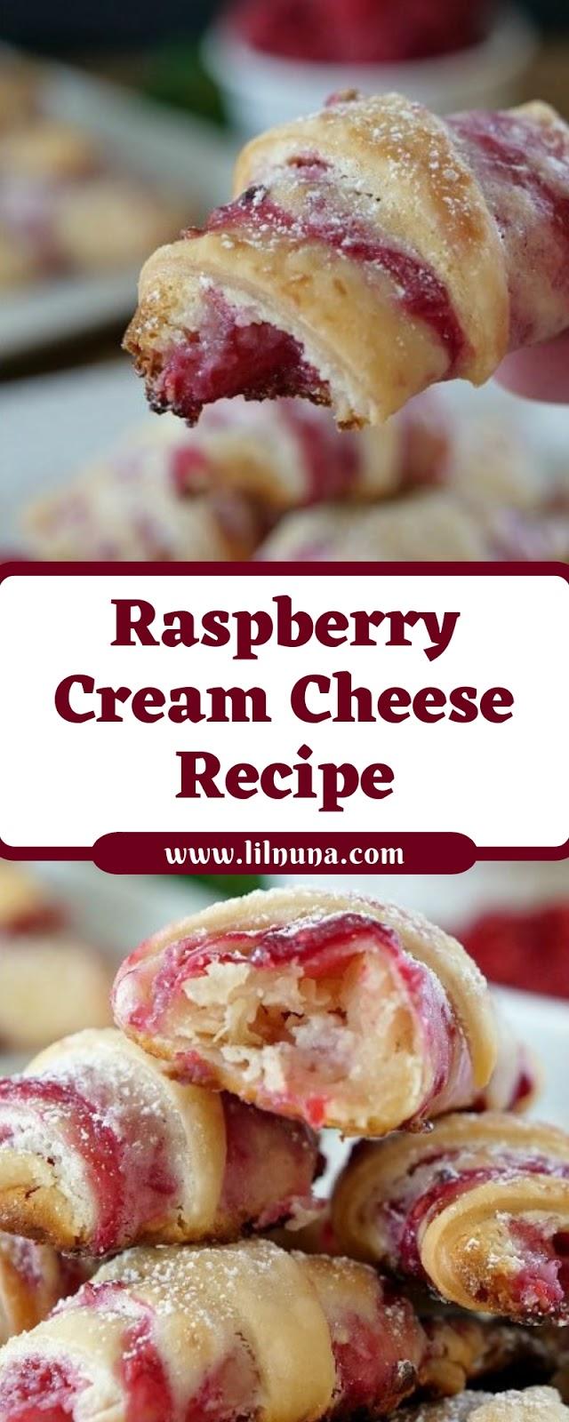 Raspberry Cream Cheese Recipe
