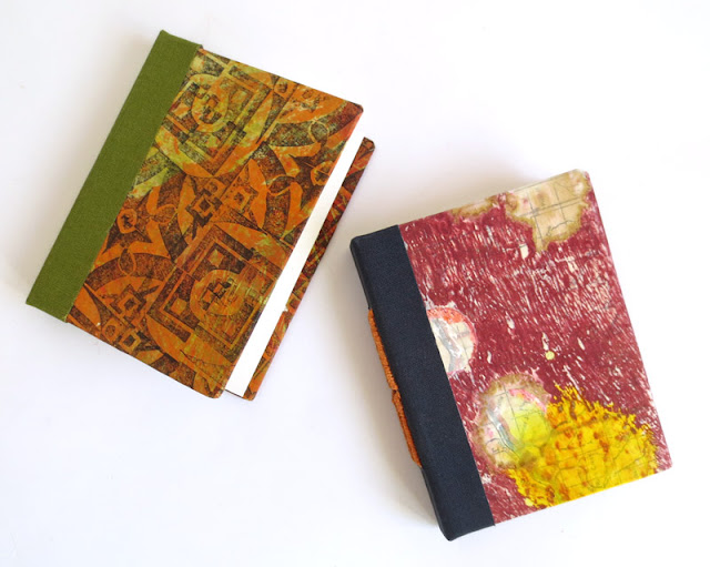 handmade book with tacket binding