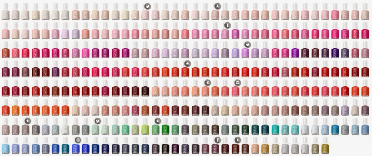 Ny Spender Trying Out All The Essie Nail Polishes