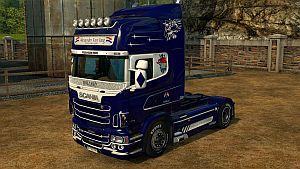 Alexander Van Varg skin for Scania RJL