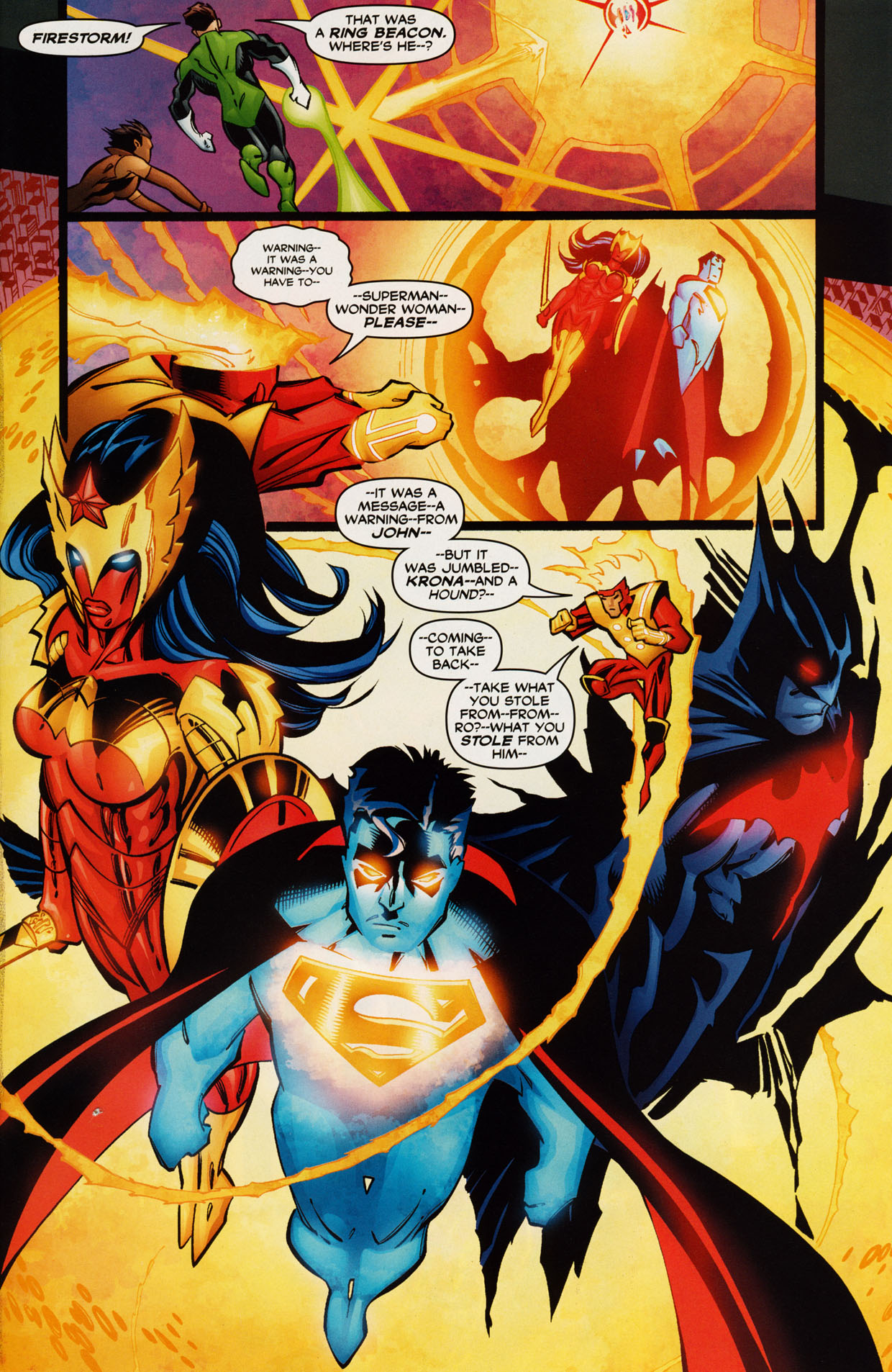 Read online Trinity (2008) comic -  Issue #42 - 22