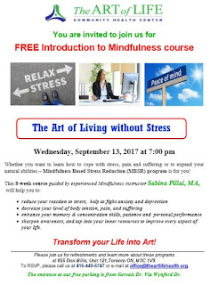 Mindfulness-Based Stress Reduction Program, The Art of Life CHC