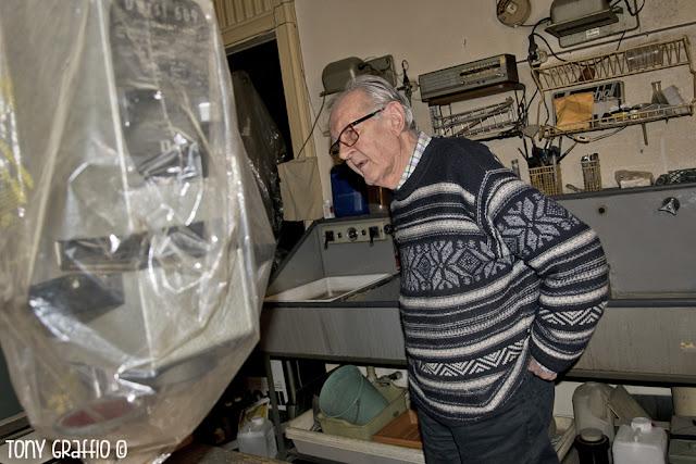Enrico Cattaneo reportage di Tony Graffio