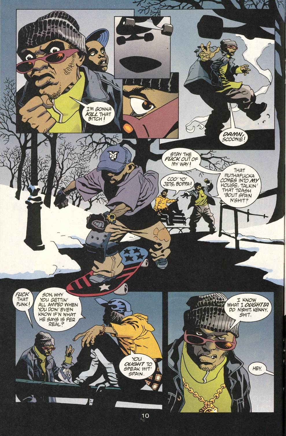 Read online 100 Bullets comic -  Issue #20 - 12