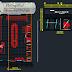 مخطط محل تجاري Boutique اوتوكاد dwg