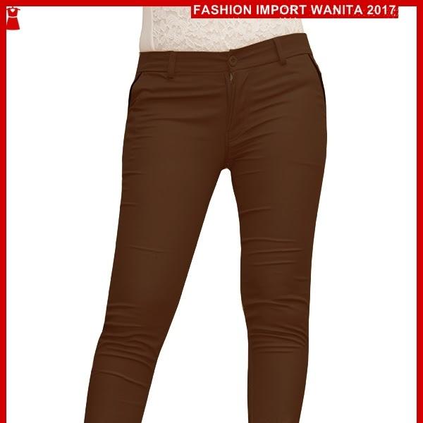 ADR006 Celana Brown Dark Panjang Chino Import BMG