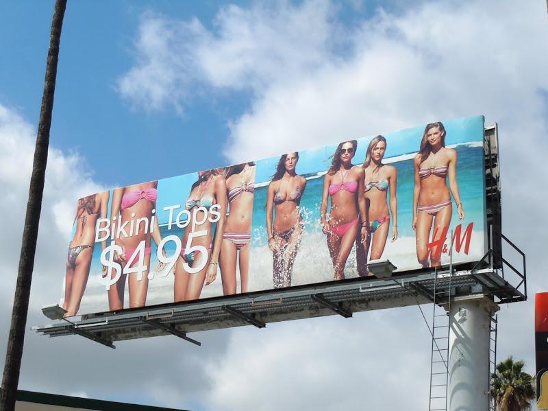 HM bikini billboard