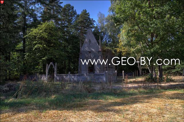 Gruszowka. Kaplica grobowa Rejtanow
