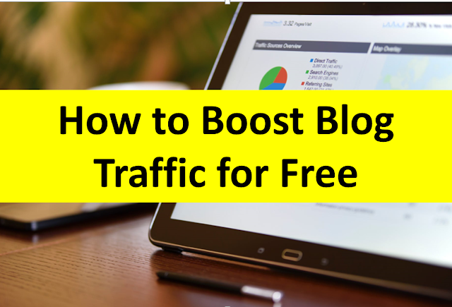 How to Boost Blog Traffic for Free
