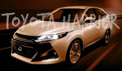 2017 Toyota Harrier Hybrid Expectations