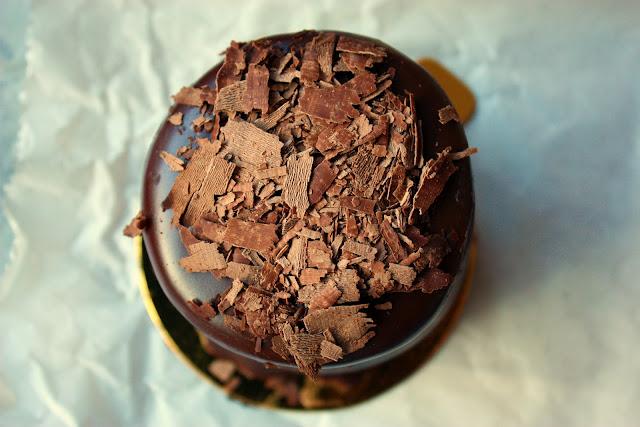 Chocolate Cake Marzipan Filling