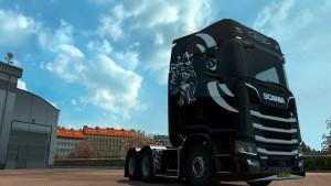 Black Knight Skin Scania 2016